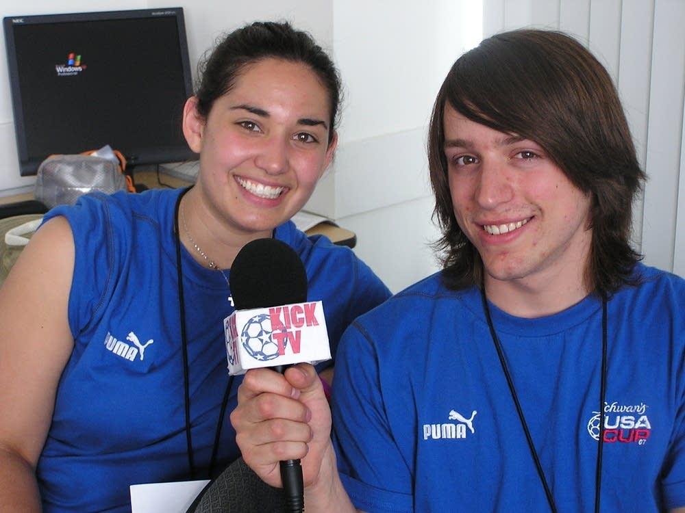 Kick TV staff