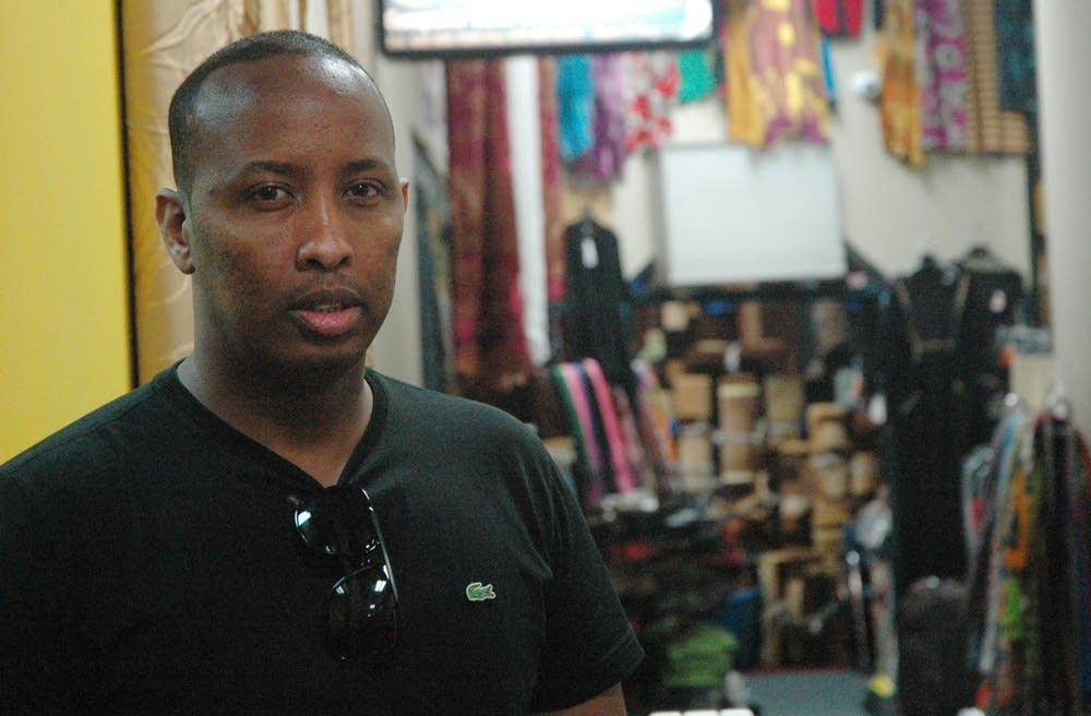 Goth Ali wires money monthly to family in Somalia.