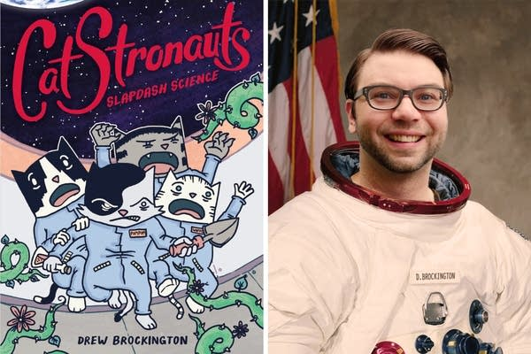 Author Drew Brockington talks about space, science and cats.