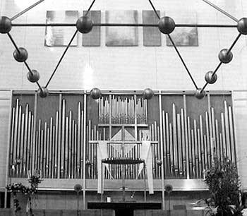1977 Mühleisen organ at the Church of Saint Boniface, Munich, Germany