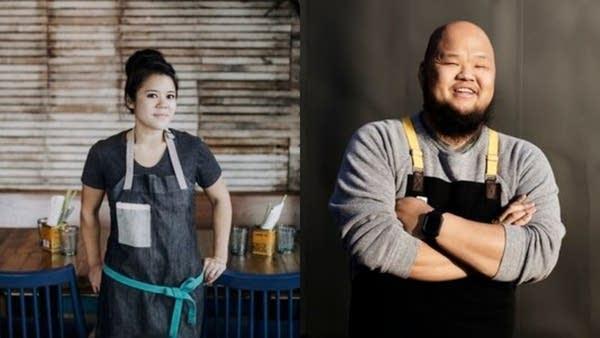 Chefs Christina Nguyen and Yia Vang