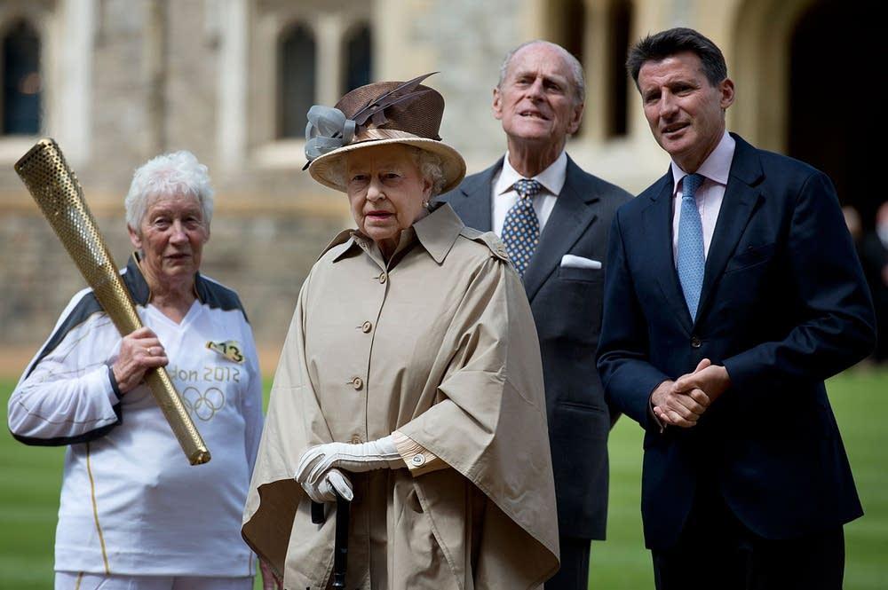 Queen Elizabeth II, Prince Philip, Sebastian Coe