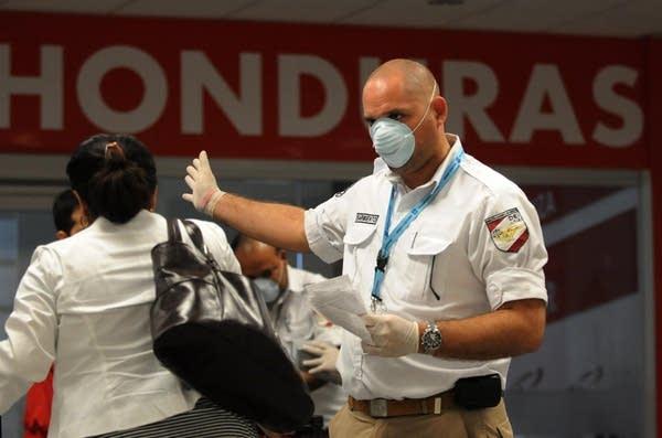 Checking for swine flu