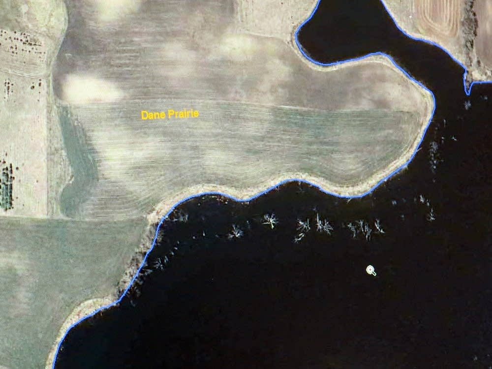 Aerial image of inadequate buffer