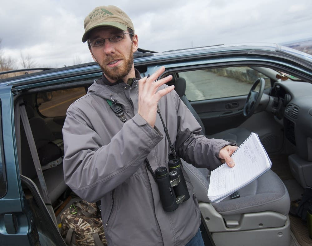 Erik Bruhnke, birdwatcher