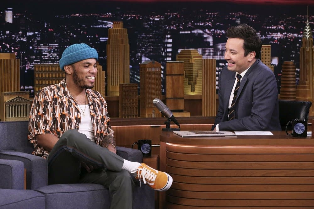 Anderson .Paak on 'The Tonight Show Starring Jimmy Fallon'