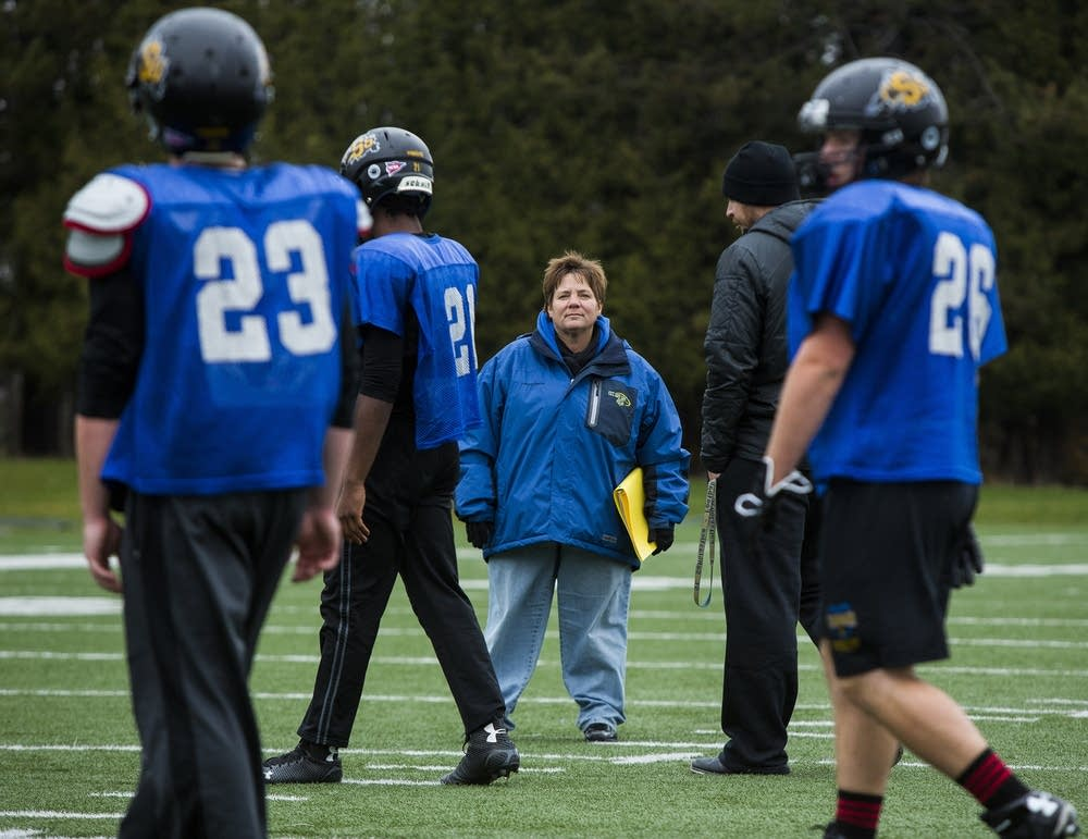 Sister Lisa Maurer, nun and kicking coach