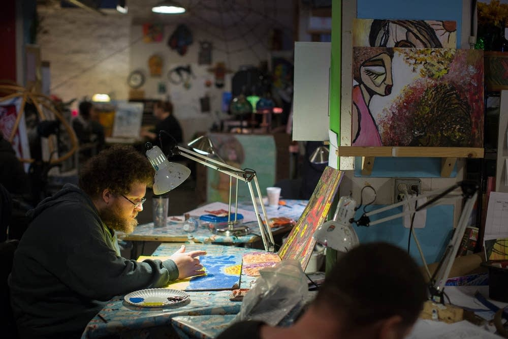 Interact artist Andrew Bauer