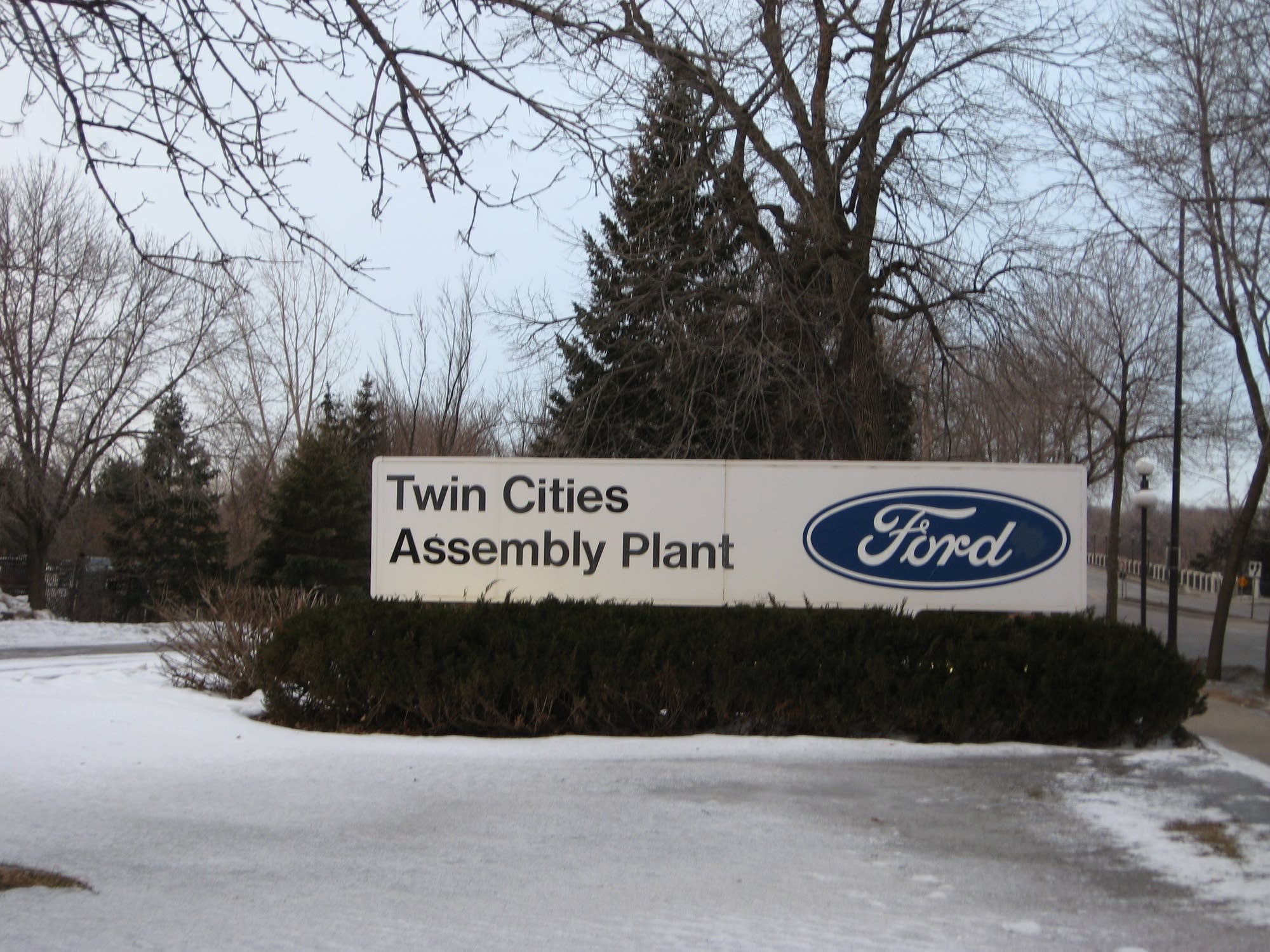Ford's St. Paul plant