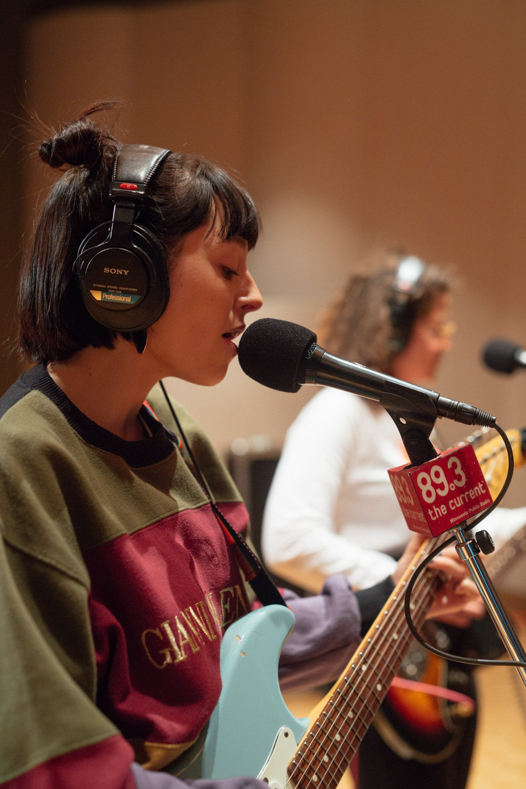 Stella Donnelly performs in The Current studio