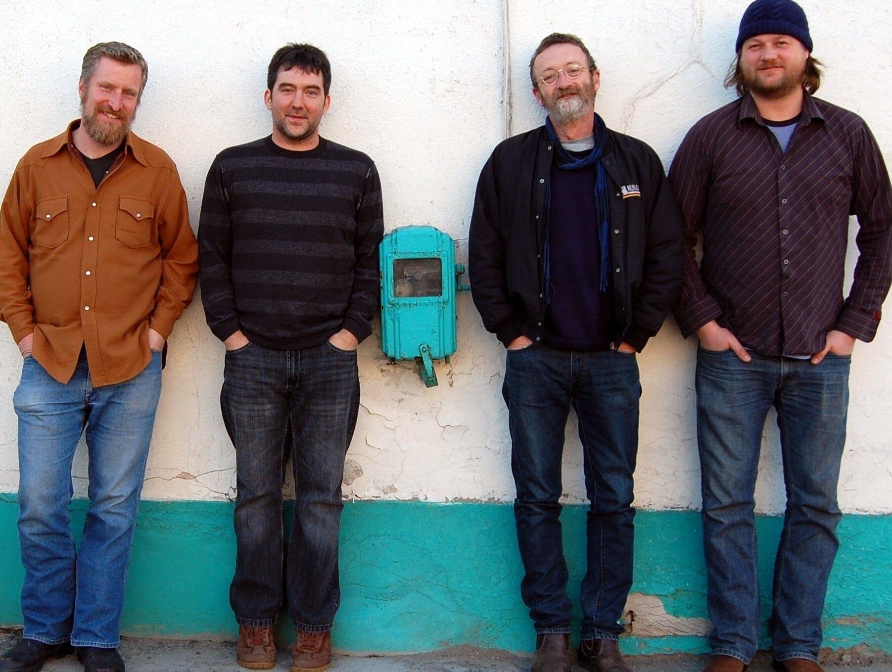 David Francey and his band