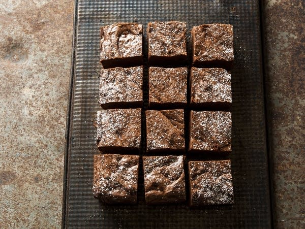 """Very chocolate maple brownies from """"Sweet Nature."""""""