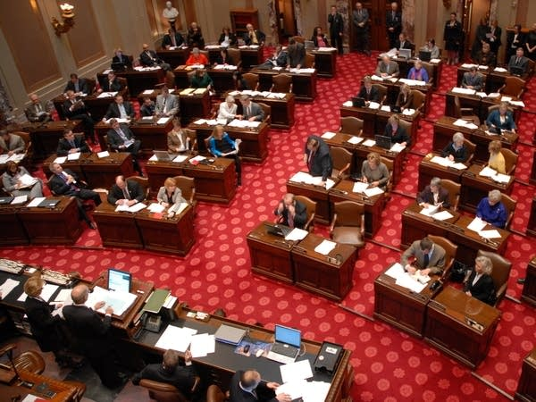 Senate convenes for 86th Session
