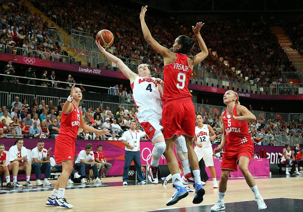 Olympics Day 1 - Basketball