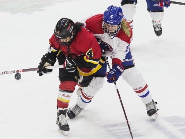 CWHL Folds Hockey