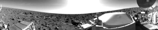 Viking 2 on Mars in 1976