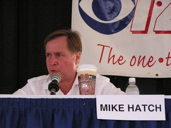 DFL gubernatorial candidate Mike Hatch