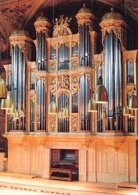 1988 Kleuker-Steinmeyer organ at Tonhalle, Zürich, Switzerland