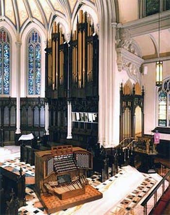 1986 Möller-1997 Kegg organ at Holy Trinity Lutheran Church, Buffalo, NY