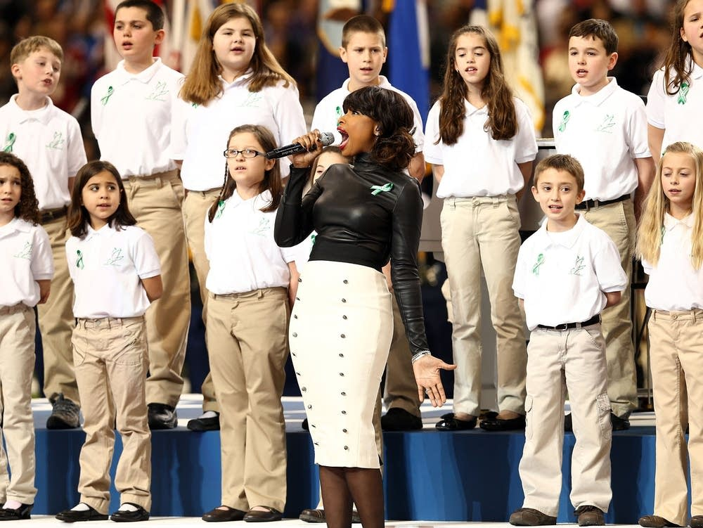 Sandy Hook choir performs