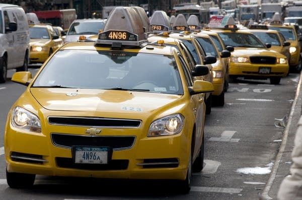 NYC Taxi Medallions' steep fare (DON EMMERT/AFP/GettyImages)