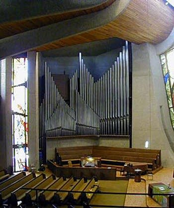 1961 Aeolian-Skinner organ at Pasadena Presbyterian Church, California
