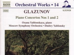 Alexander Glazunov - Piano Concerto No. 1: II. Theme with Variations