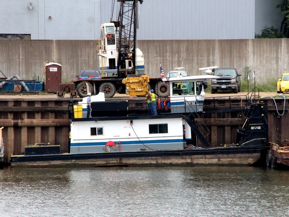 Towboat gets upgrades