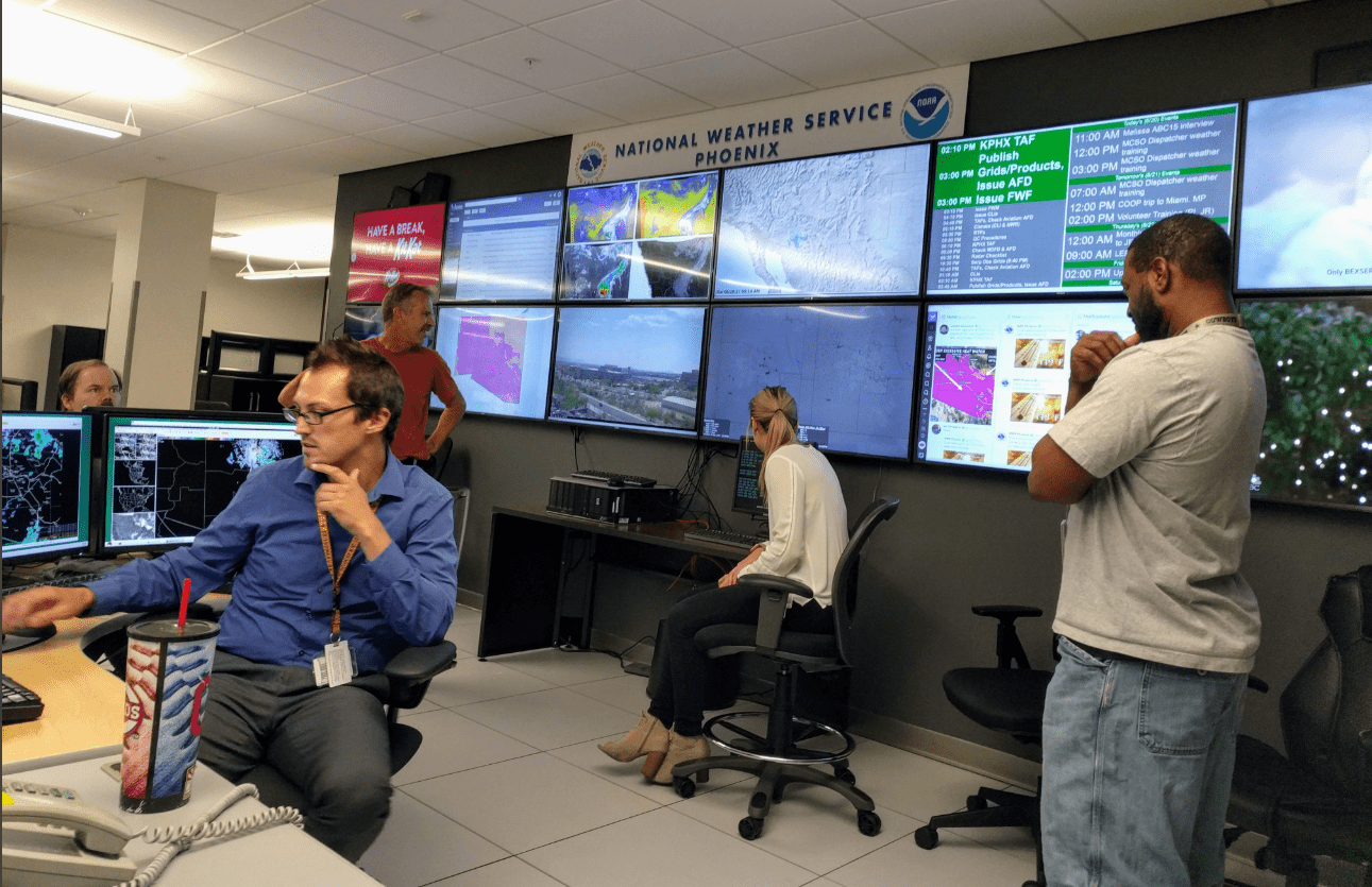 Forecaster at the National Weather Service in Phoenix, AZ