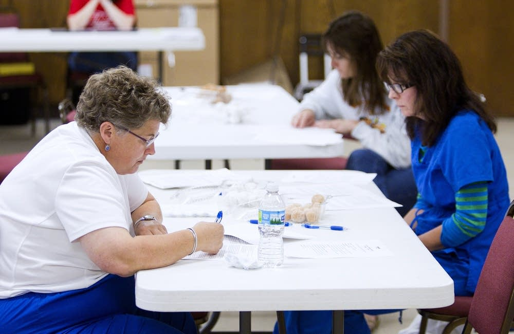 Nurses voting