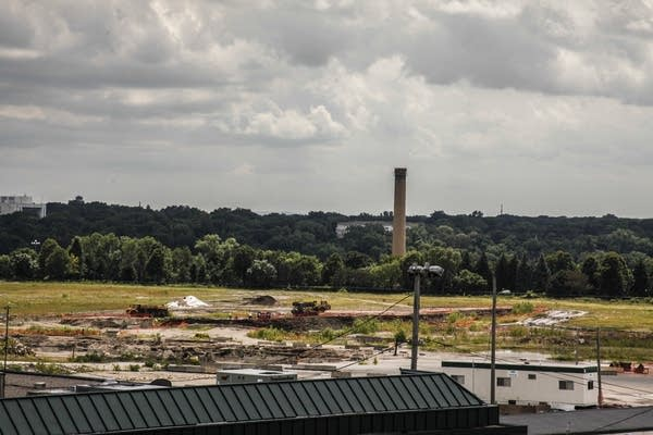 Former Ford plant site undergoing development.