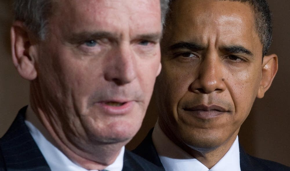 President Obama and Rep. Senator Judd Gregg