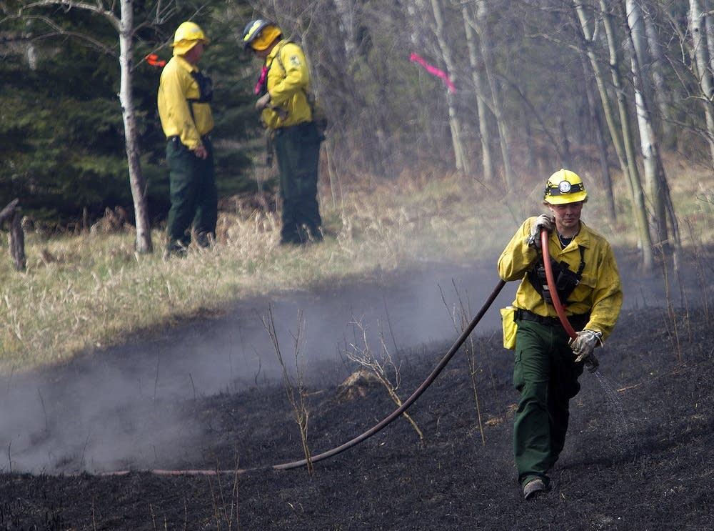 Hibbing fires