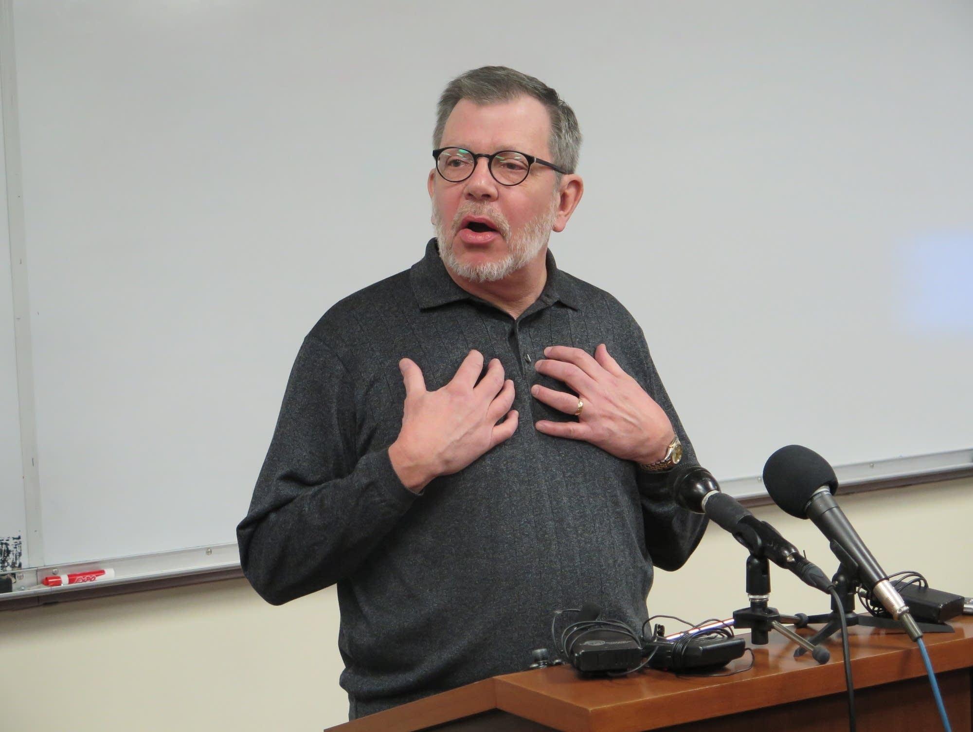 University of Minnesota President Eric Kaler