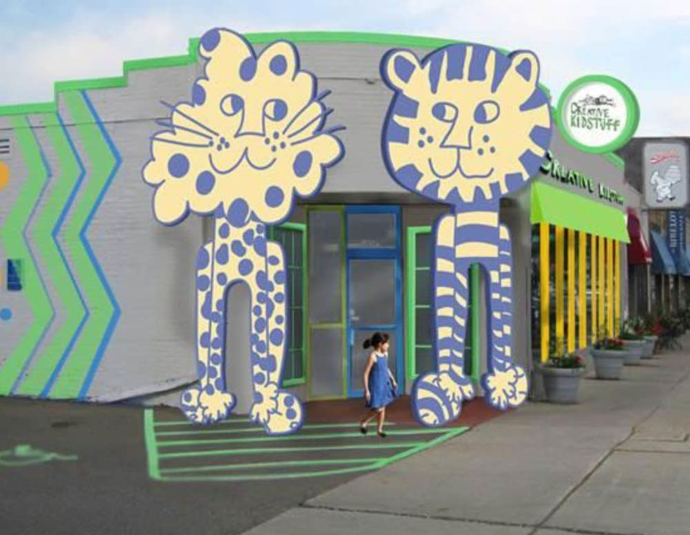 Creative Kidstuff's design