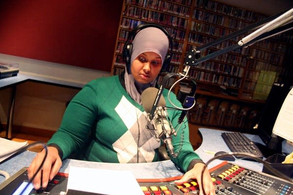 Zuhur Ahmed at KFAI