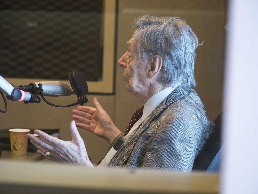 Robert Fisch talks to host Mindy Ratner