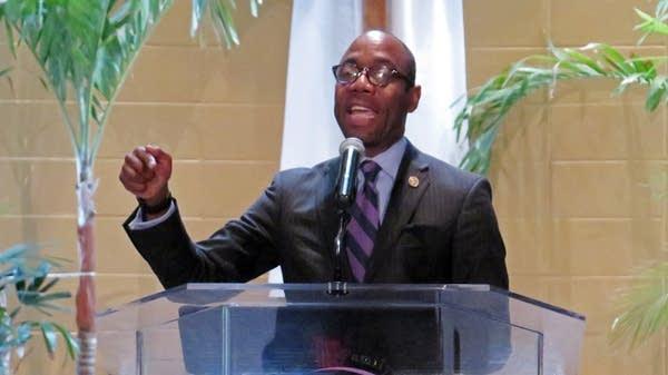 NAACP National President Cornell Brooks