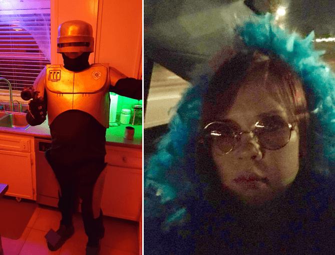 Brian and Jill Halloween costumes 2017