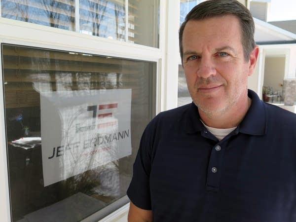 Rosemount high football coach and American government teacher Jeff Erdmann