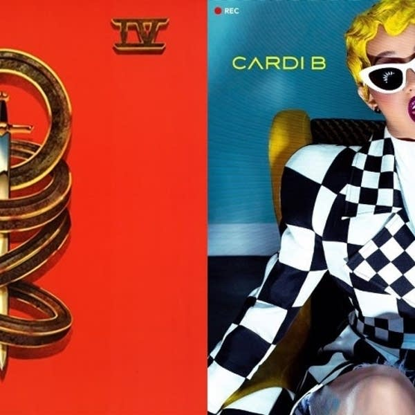 'Toto IV' and Cardi B's 'Invasion of Privacy.'