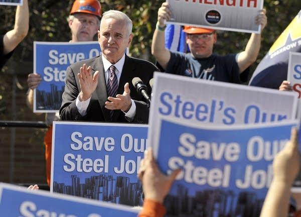 Mining rally