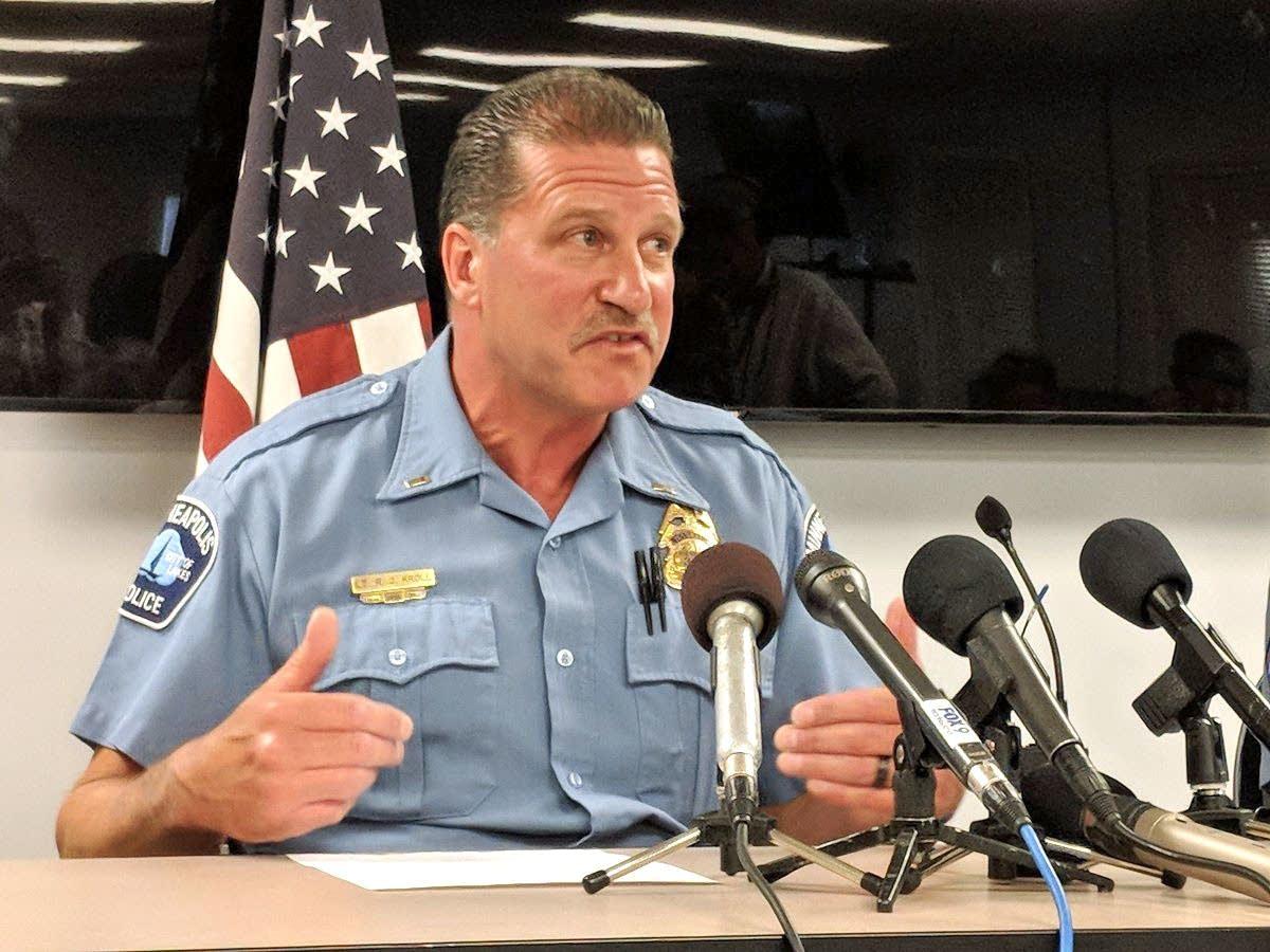 Minneapolis Police union president Bob Kroll.