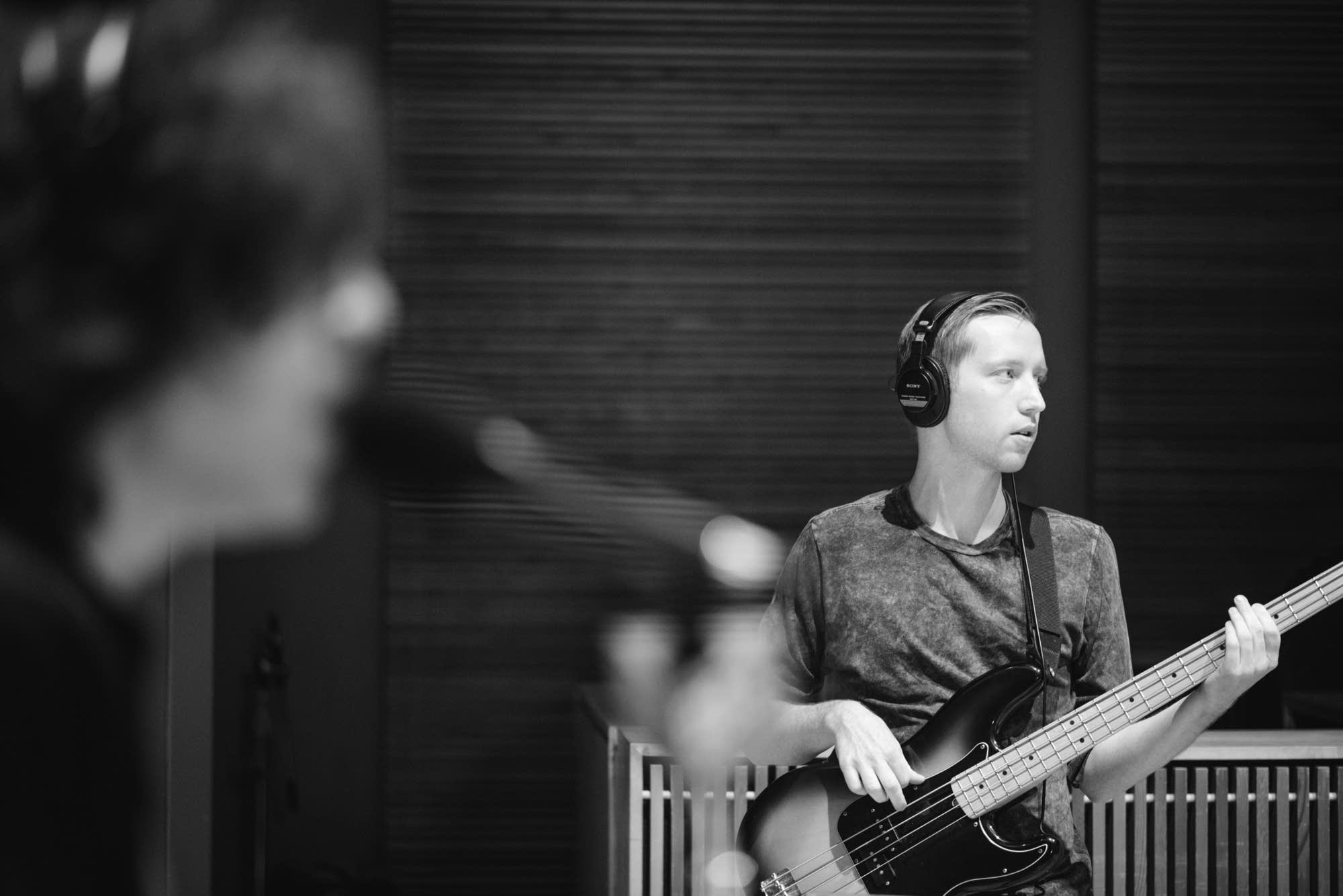 Car Seat Headrest Perform In The Current Studio The Current