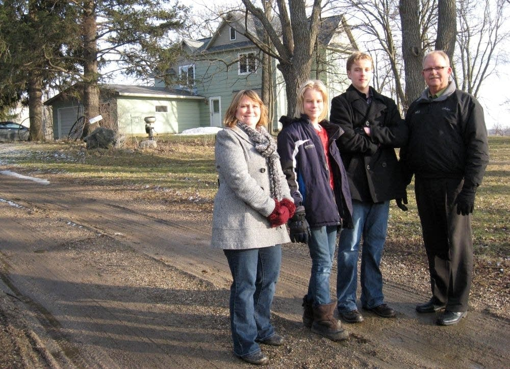 Ole Olson family