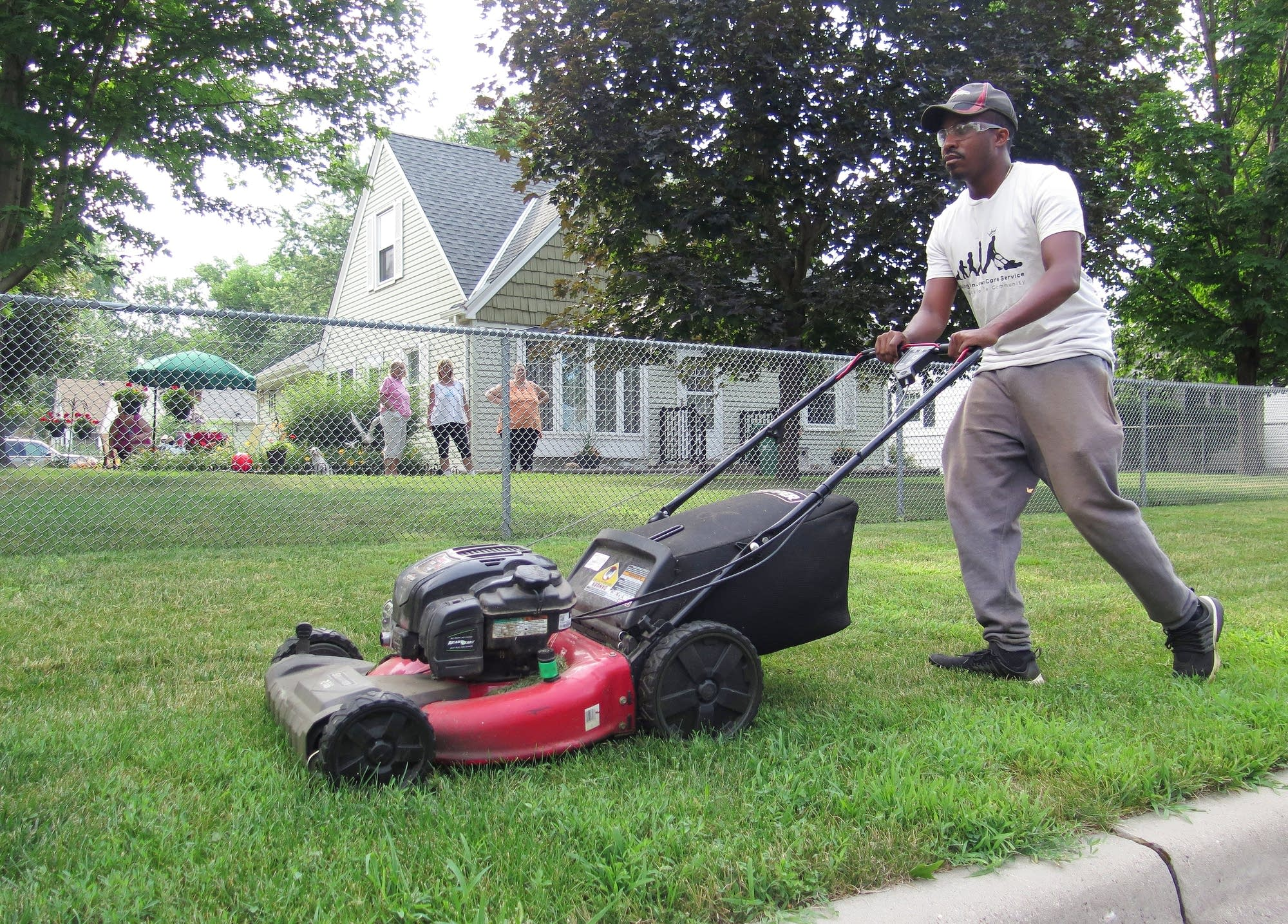Alabama Man Cuts Lawns Cultivates Hope In Minnesota Mpr