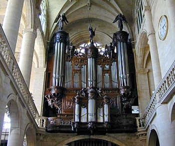 1956 Beuchet-Debierre organ at Saint Etienne-du-Mont, Paris, France
