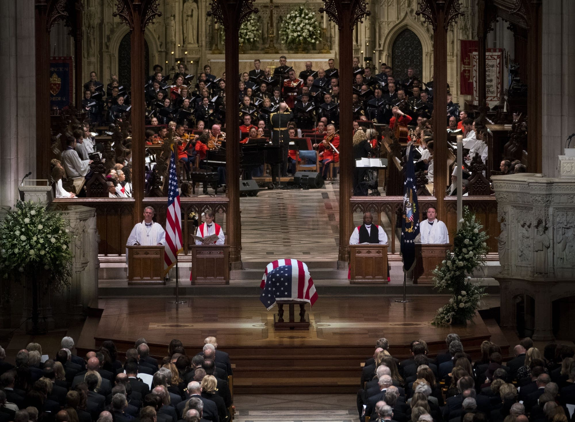 The state funeral for former President George H.W. Bush.