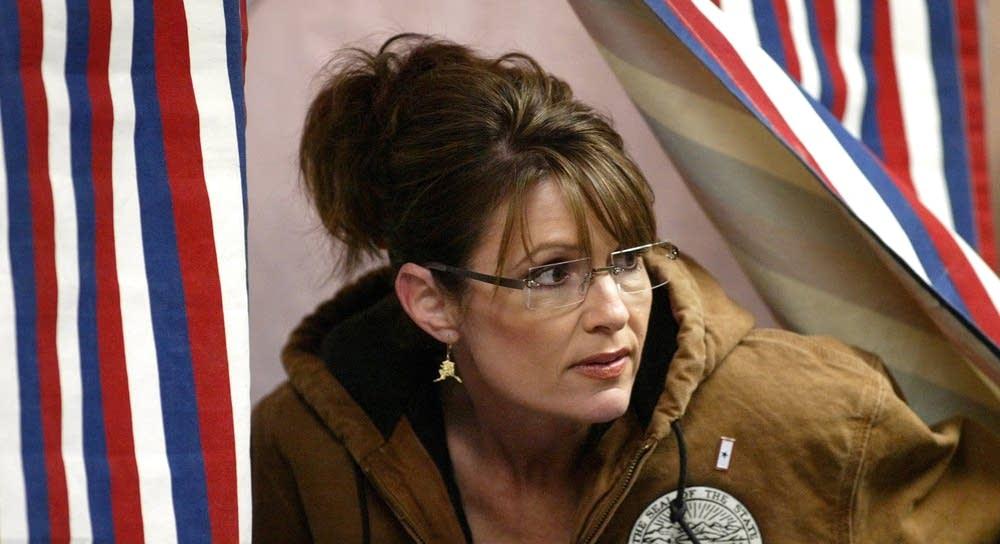 Palin votes