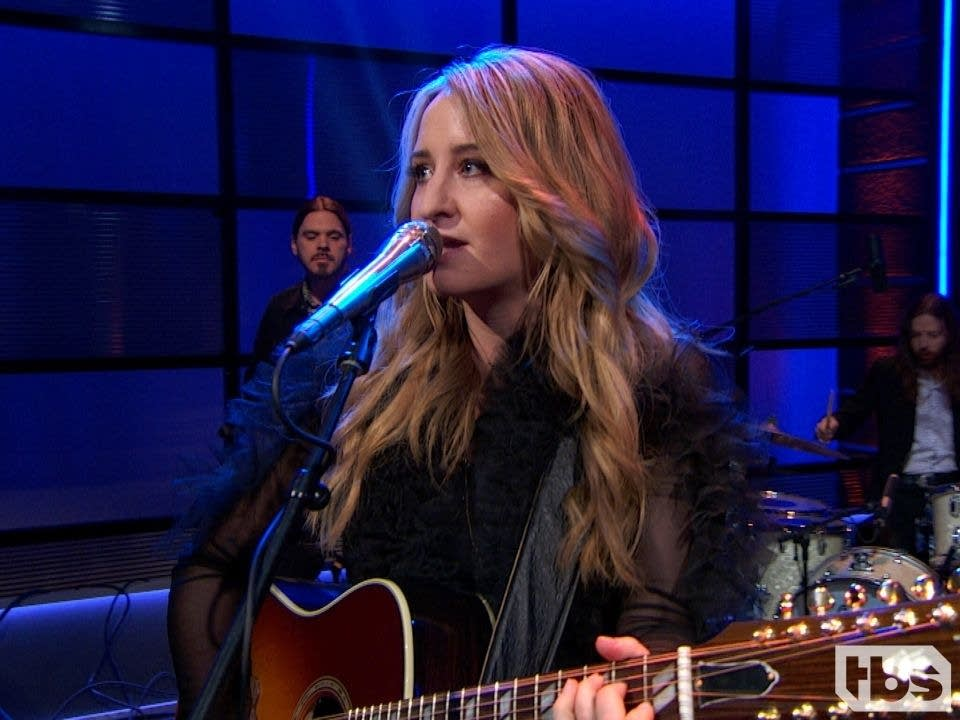 Margo Price performing on 'Full Frontal with Samantha Bee'